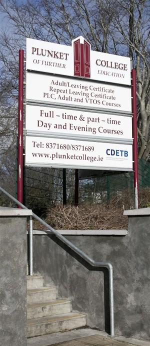 Plunket College Entrance